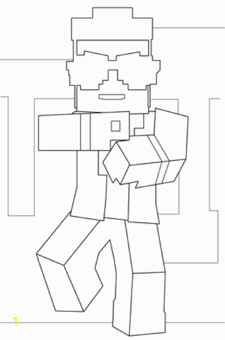 minecraft gangnam style coloring pages Minecraft Birthday Party Gangnam Style Coloring Pages For Kids