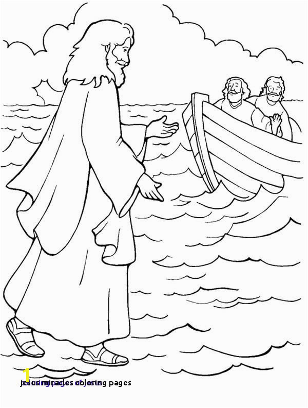 24 Jesus Miracles Coloring Pages