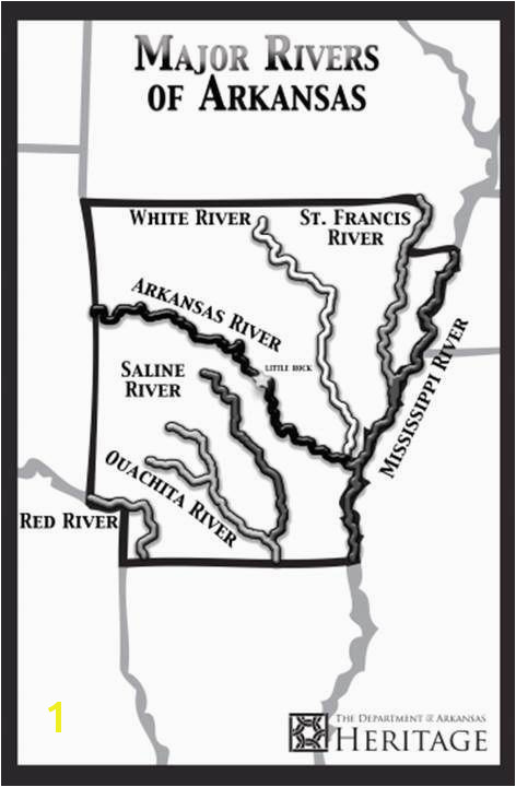 FREE POSTER COLORING PAGE from the Department of Arkansas Heritage Arkansas Rivers Arkansas