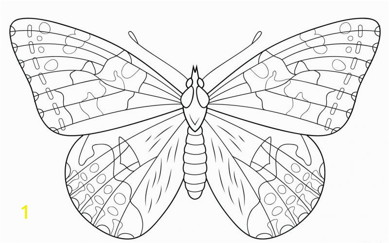 Monarch butterfly Coloring Page 11 Inspirational Monarch butterfly Coloring Page