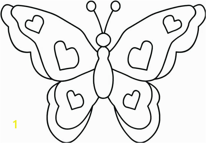 Free Printable butterfly Coloring Pages New butterfly Coloring Pages Line butterfly Coloring Page butterfly