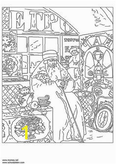 boris kusto v Famous paintings coloring pages