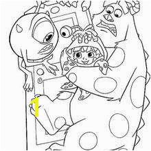 Monster Inc Coloring Pages Waternoose Coloring Pages Hellokids