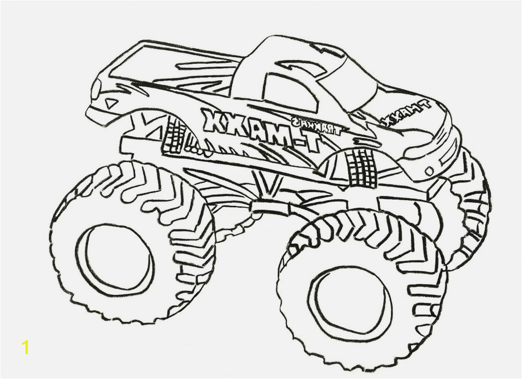 Monster Truck Coloring Pages Best Easy 16 Best Printable Truck Coloring Pages