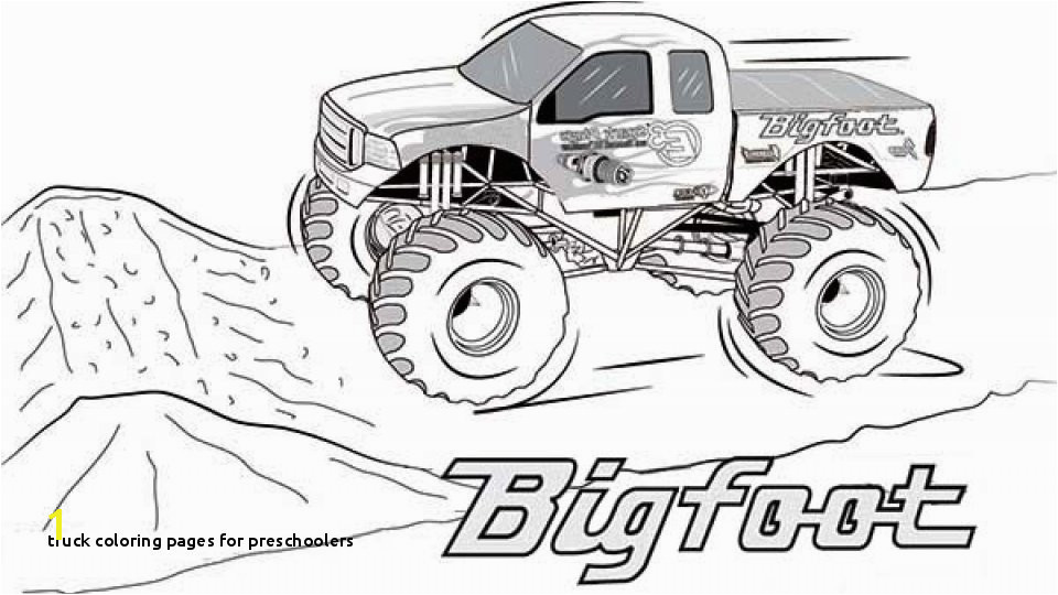 Od Sand Truck Coloring Pages for Preschoolers Beautiful Monster Jam Coloring Pages Coloring Pages
