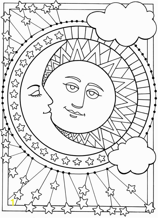 Wel e to Dover Publications Sun Moon and Stars Designs to Color