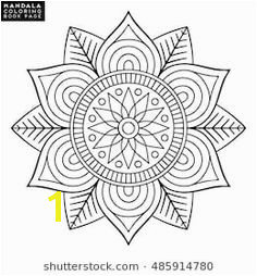 Oriental pattern vector illustration Islam Arabic Indian moroccan spain turkish pakistan chinese mystic ottoman motifs Coloring book page