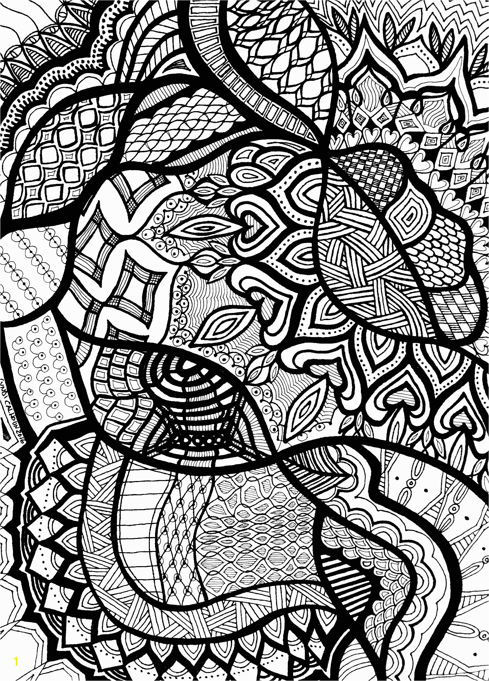 printable mosaic coloring book pages Interesting Ideas Printable Mosaic Coloring Pages Download