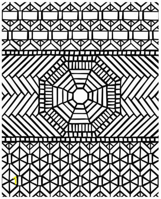 Mosaic Coloring Pages For Adults Picture 1 free sample