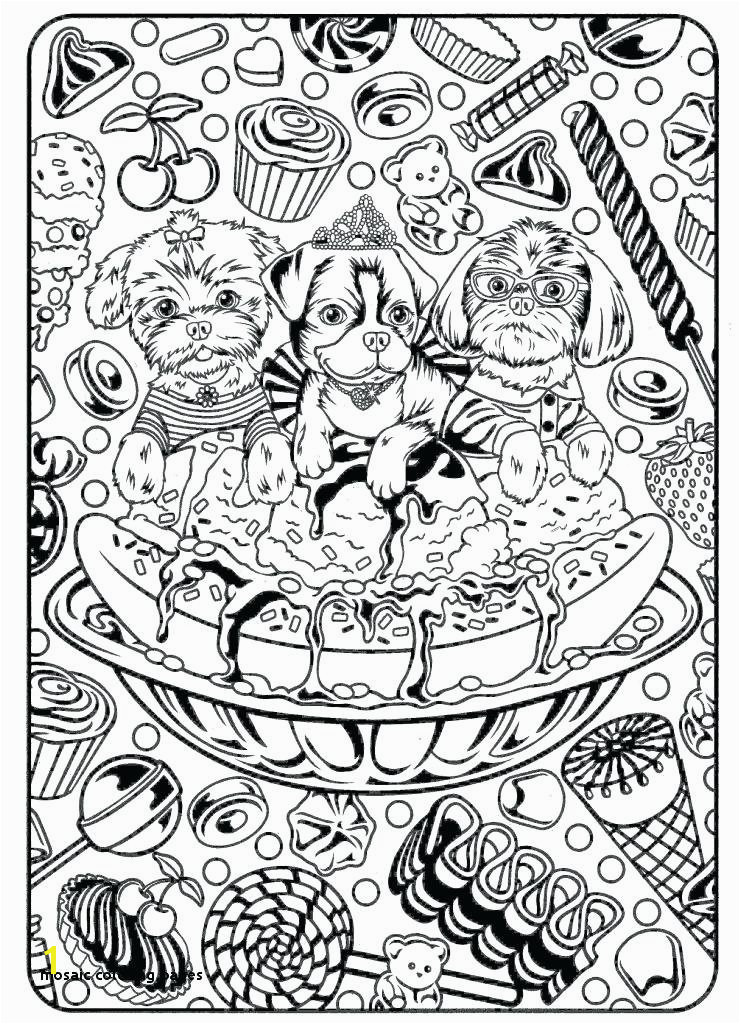 Unique Mosaic Coloring Pages Mosaic Coloring Sheets Mandala Printable Pages Roman Mosaic Templates for Kids