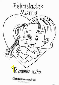 Mothers Day Coloring Pages In Spanish 91 Best Mother S Father S Day Art&craft Images On Pinterest In