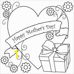 Free Childrens Coloring Pages Mothers Day