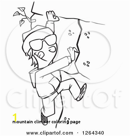 Mountain Climber Coloring Page Mountain Climber Coloring Page 28 Collection Mountain Climber