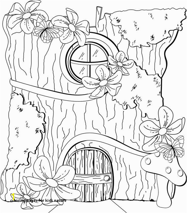 Coloring Pages for Kids Nature the Color Game Awesome Home Coloring Pages Best Color Sheet 0d
