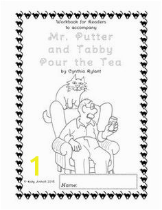 Workbooks for Readers Mr Putter and Tabby Pour the Tea
