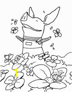 Olivia the Pig Coloring Pages 4