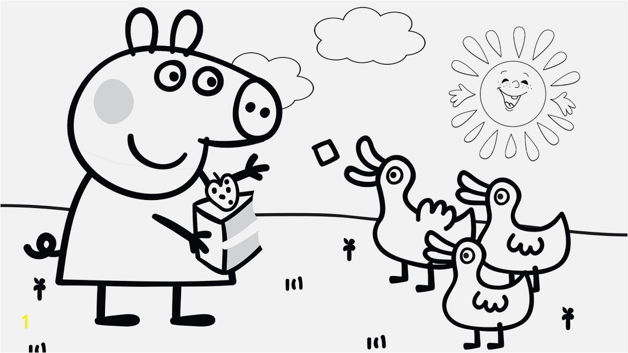 Malvorlage Peppa Wutz Verschiedene Bilder Färben Peppa Pig and Other Coloring Book Pages Kids Fun Art Coloring Video