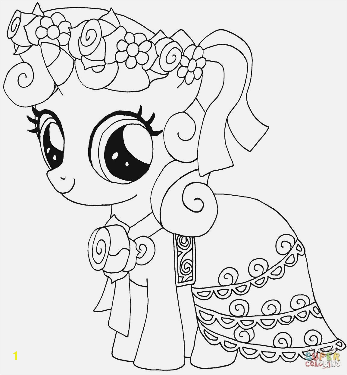 My Pretty Pony Coloring Pages My Little Pony Coloring Pages Best Easy Coloring Pages My Little