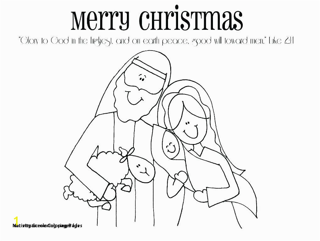 Nativity Coloring Pages Lds Printable Obsession Missionary Page