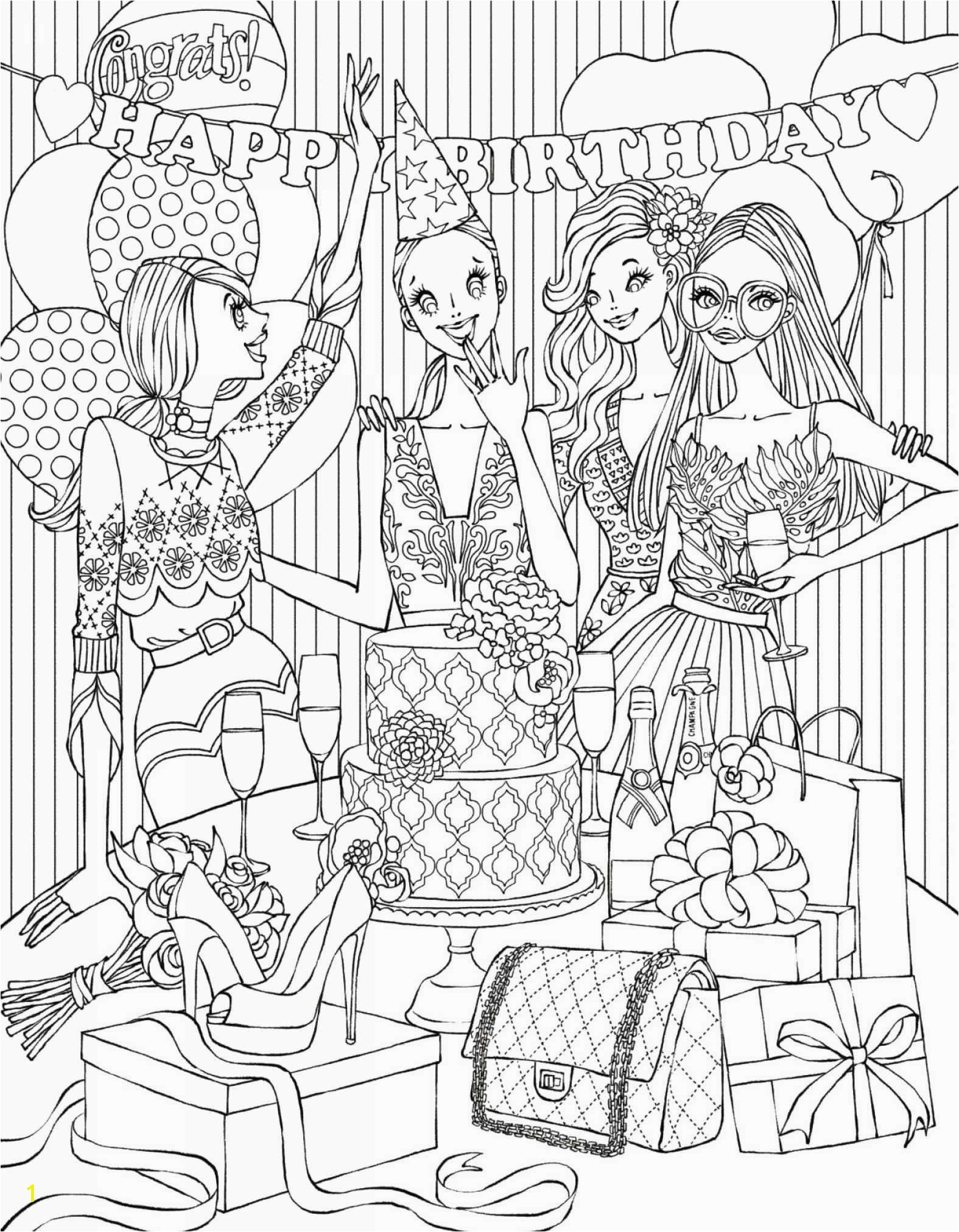 Christmas Scenes Coloring Pages