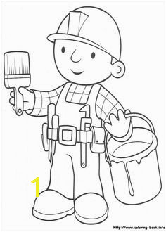 Bob the Builder coloring picture Bob O Construtor Coloring Pages For Kids Kids Coloring