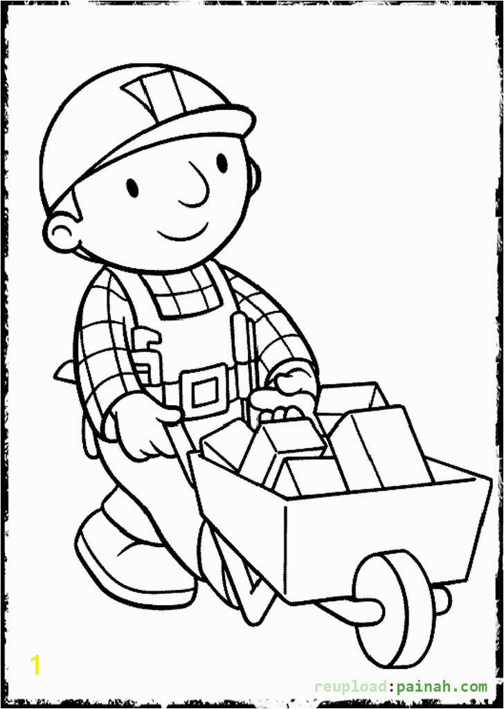 Bob the Builder Coloring Pages Beko Brick