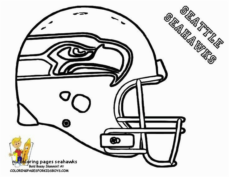 21 Nfl Coloring Pages Seahawks