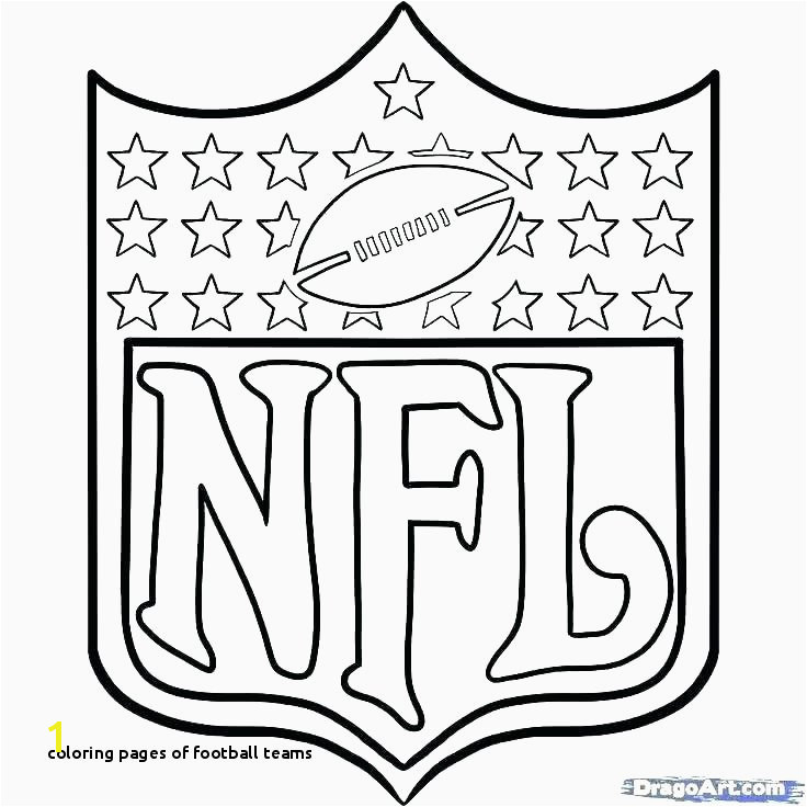 Coloring Pages Football Teams Nfl Football Coloring Pages Awesome Coloring Football Coloring Pages