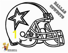 Anti Skull Cracker Football Helmet Coloring Page