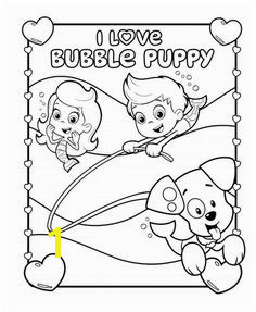 Bubble Guppies I Love Bubble Puppy Coloring Pack Bubble Guppies Coloring Pages Spiderman Coloring