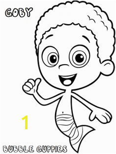 Coloring pages based on cartoons are very popular with younger kids Check 10 free printable Bubble Guppies coloring pages to improve their artistic skills