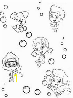 line Printable Bubble Guppies Coloring Sheet For Kids Nick Jr Coloring Pages Coloring Sheets For