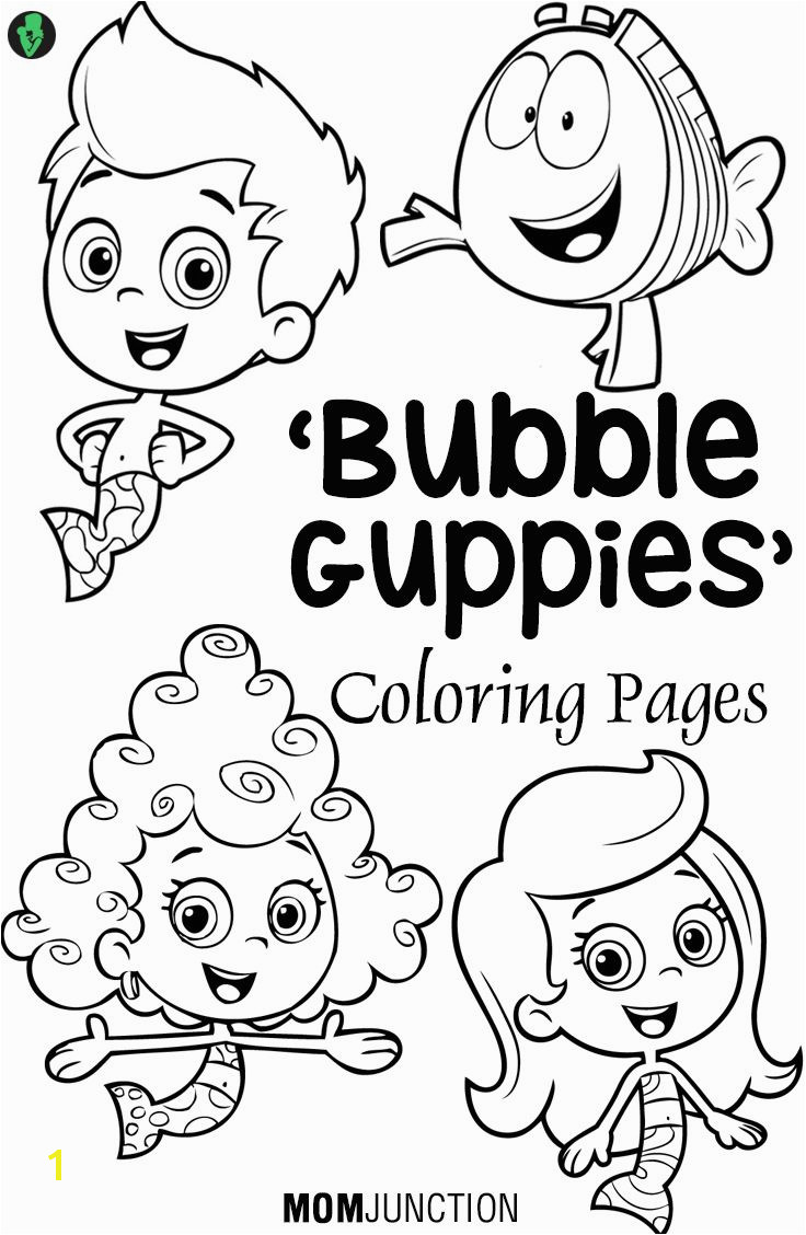 Bubble Guppies Coloring Pages 25 Free Printable Sheets Bubble Guppies Birthday