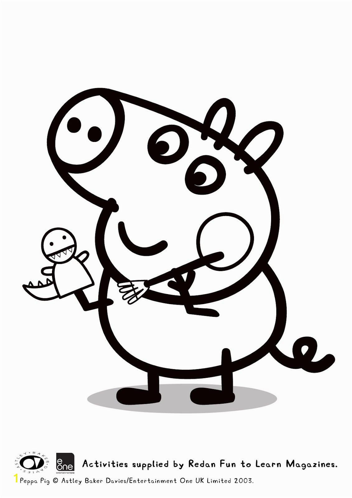 Guarda tutti i disegni da colorare di Peppa Pig