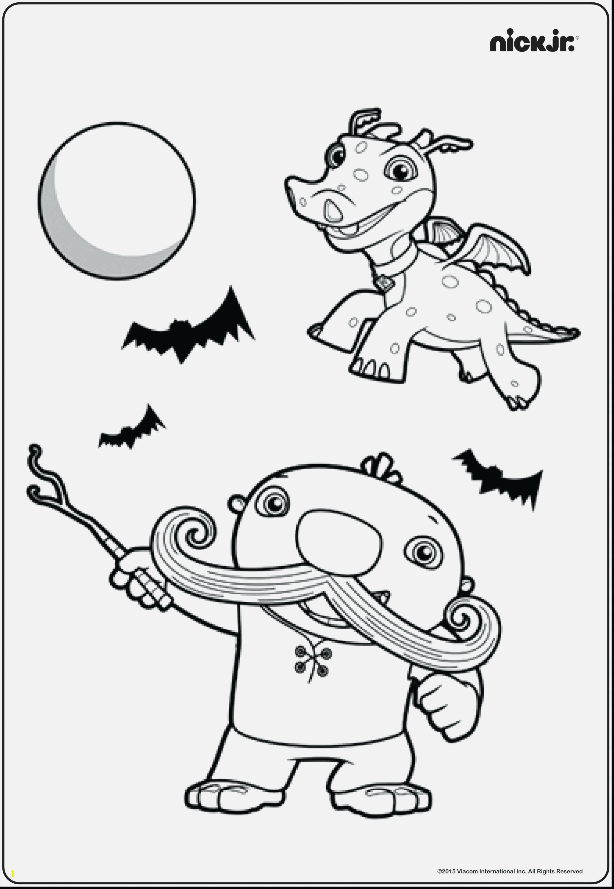 Team Umizoomi Coloring Pages Download and Print for Free 35 Awesome Nick Jr Coloring Pages