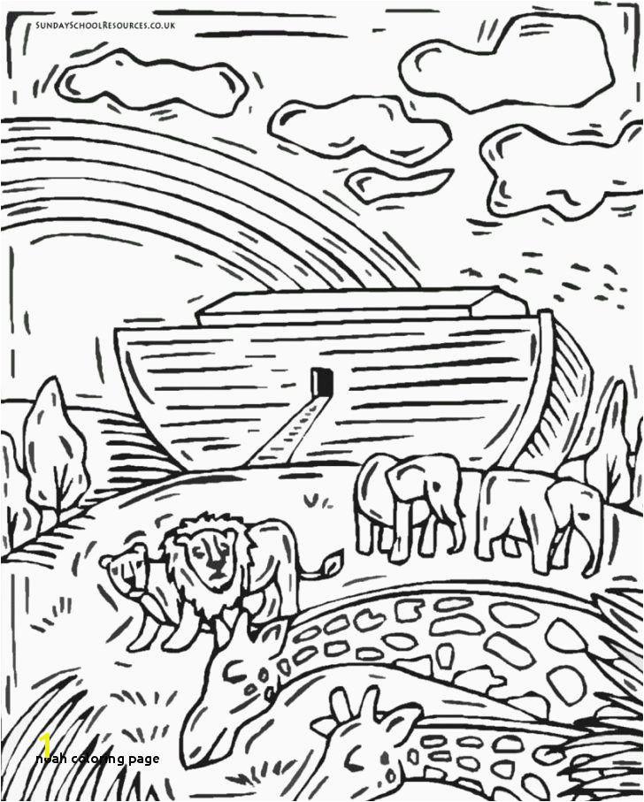 Noahs Ark Coloring Page Fresh Noah Coloring Page Noah Ark Coloring Page Noah Rainbow Coloring Page