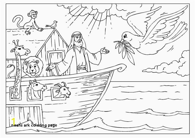 Noah and the Ark Coloring Page Luxury Preschool Printables Noah Ark