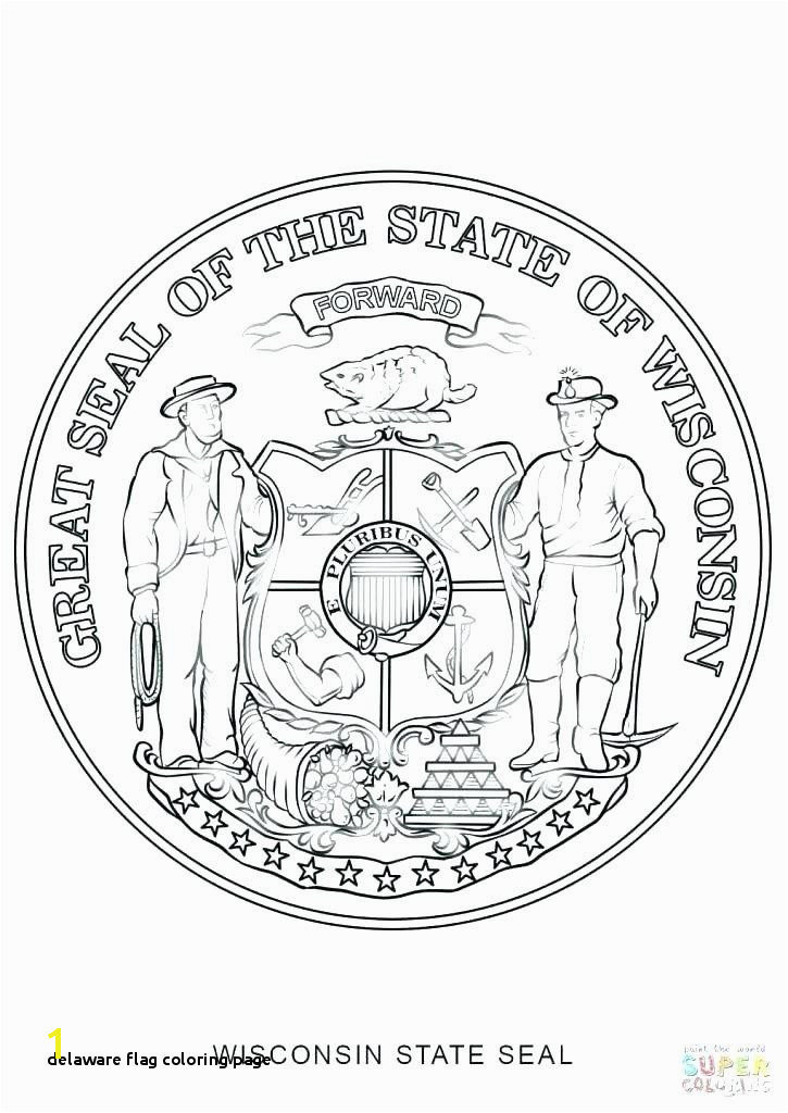 Mycosedesonglesfo Delaware Flag Coloring Page Oklahoma State Seal Coloring Page Beautiful Delaware State Seal