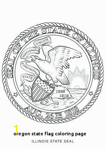 oregon State Flag Coloring Page oregon State Flag Coloring Page Unique Missouri State Seal Coloring