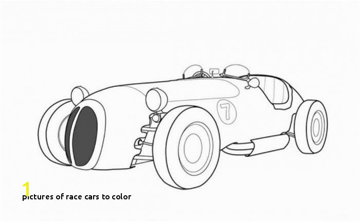 Race Cars to Color Jaguar Old Racing Car Coloring Page