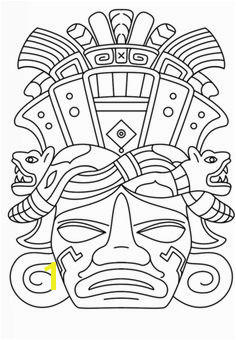 Olmec Coloring Pages 96 Best Coloring Pages Images In 2018