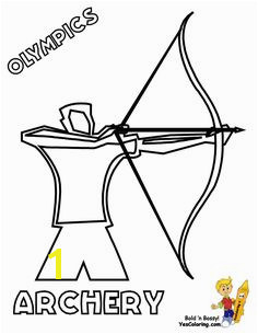 Choose these Olympic Summer Coloring Sheets for cool coloring kids Free Olympic sports coloring of