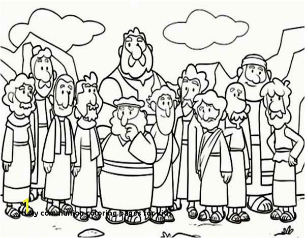 Holy munion Coloring Pages for Kids Holy Munion Coloring Pages for Kids New Cartoon Od Jesus