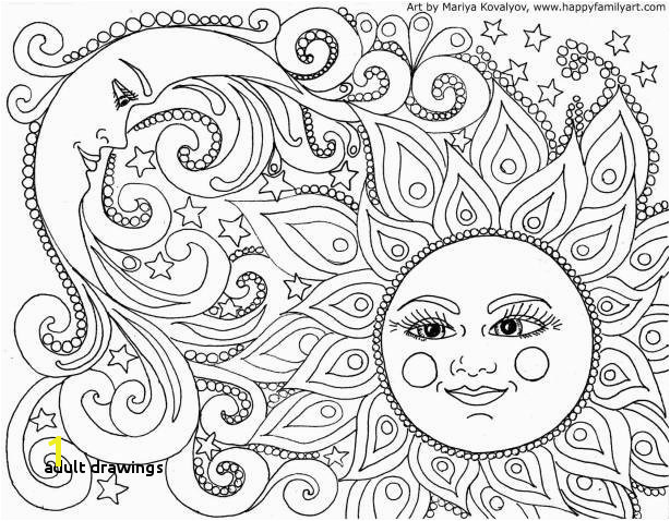 Drawing Step by Step Hearts Elegant Outer Space Coloring Page with