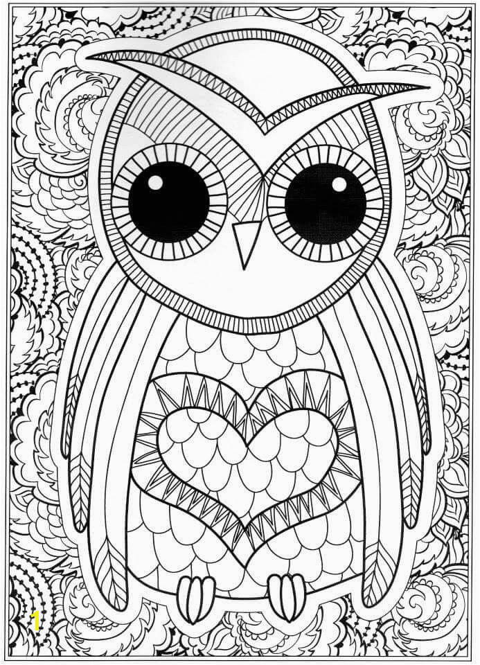 Owl Coloring Pages for Adults New Free Owl Coloring Pages Coloring Pages Line New Line Coloring