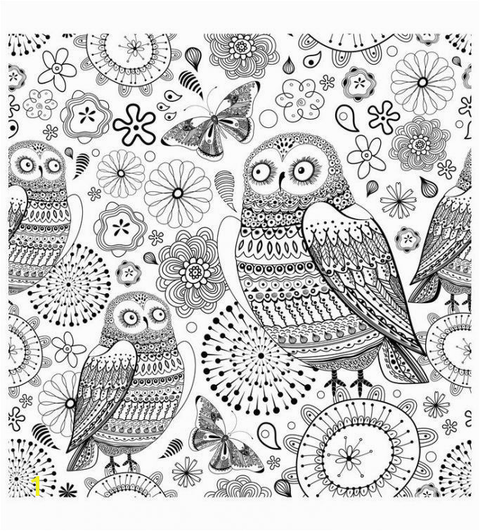 Printable Owl Coloring Pages Awesome Printable Owl Coloring Pages for Adults for Kids for Adults In