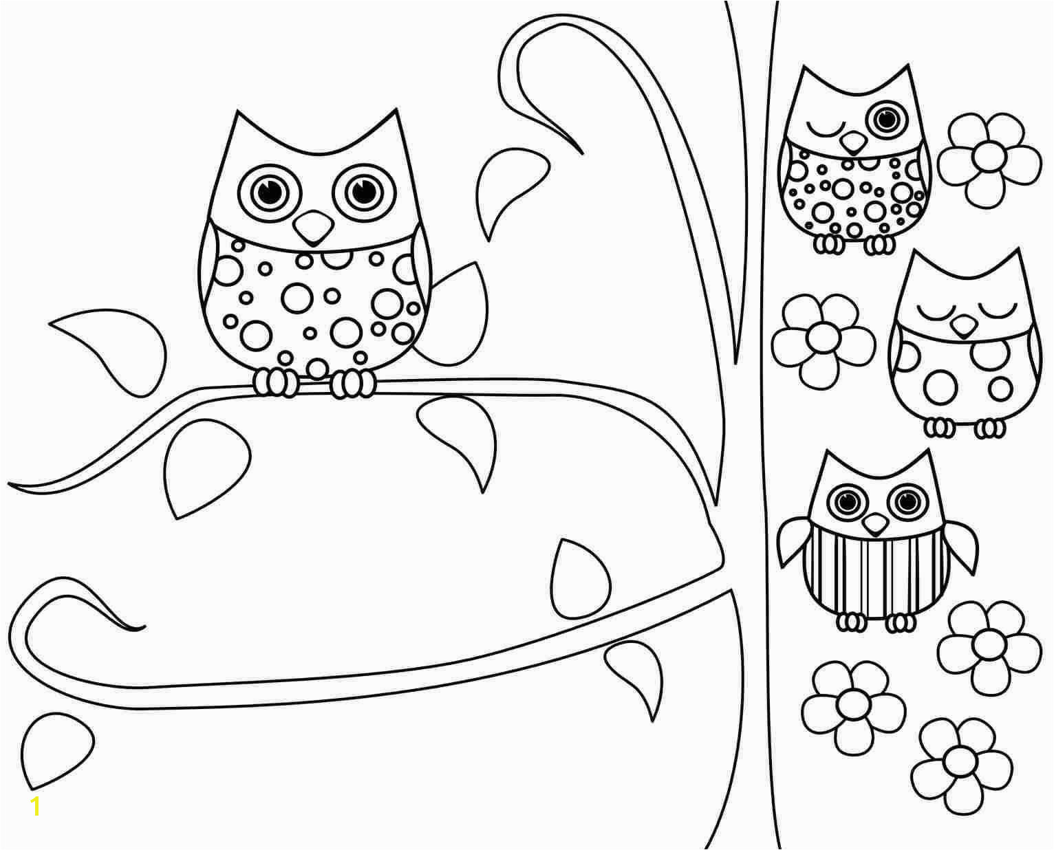 Owl Printable Coloring Pages Printable Colouring Pages Awesome Printable Coloring Pages Owls