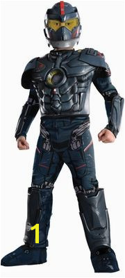Pacific Rim Gipsy Danger Deluxe Kids Costume