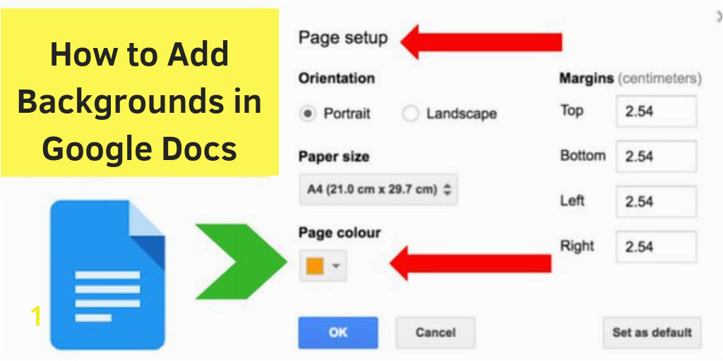 Page Color Google Docs How to Add Backgrounds In Google Docs A Workaround