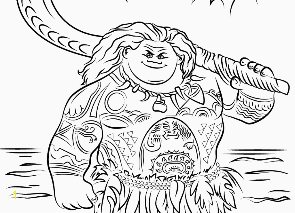Coloring Book line Luxury Inspirational Moana Printable Coloring Pages Coloring Pages